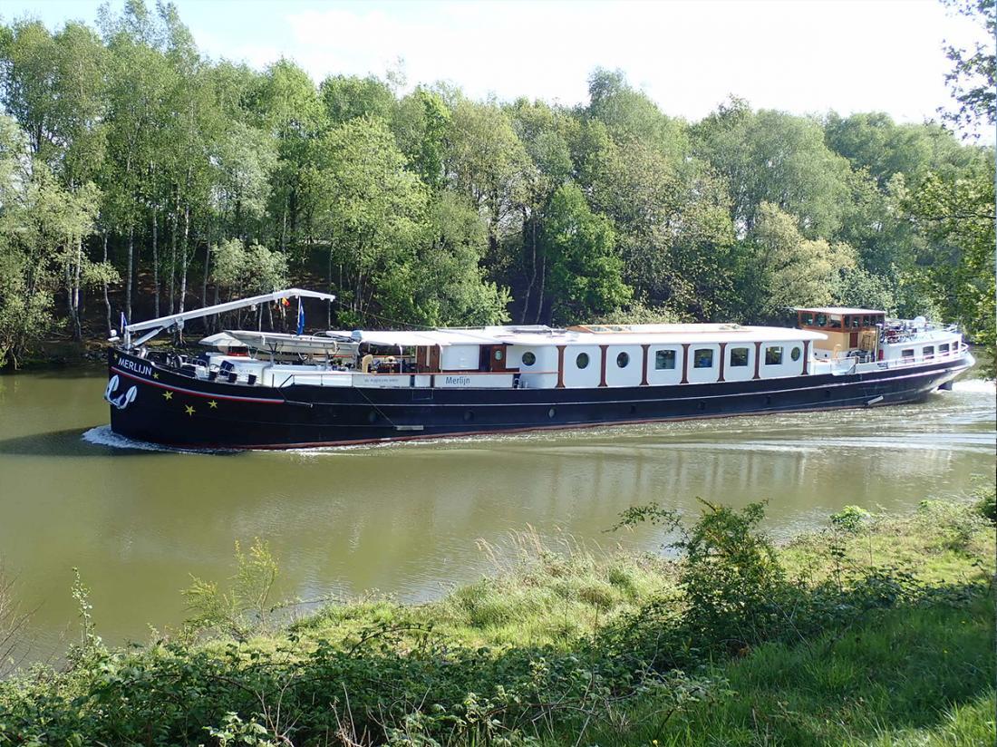 hotelboat merlijn natuur