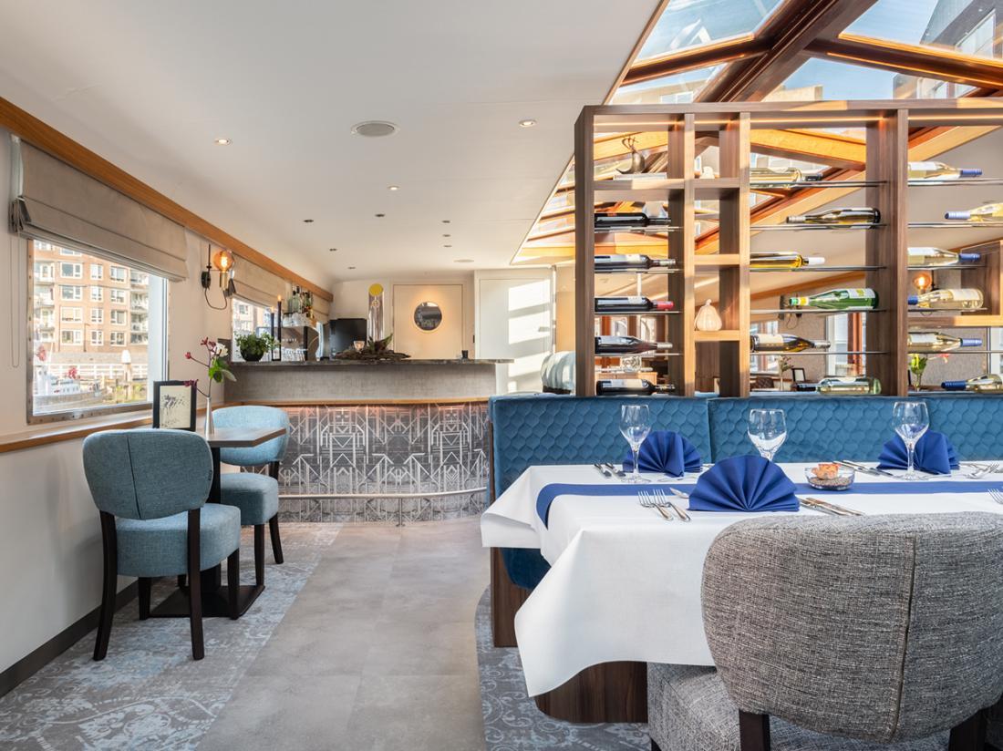 restaurant hotelboat merlijn