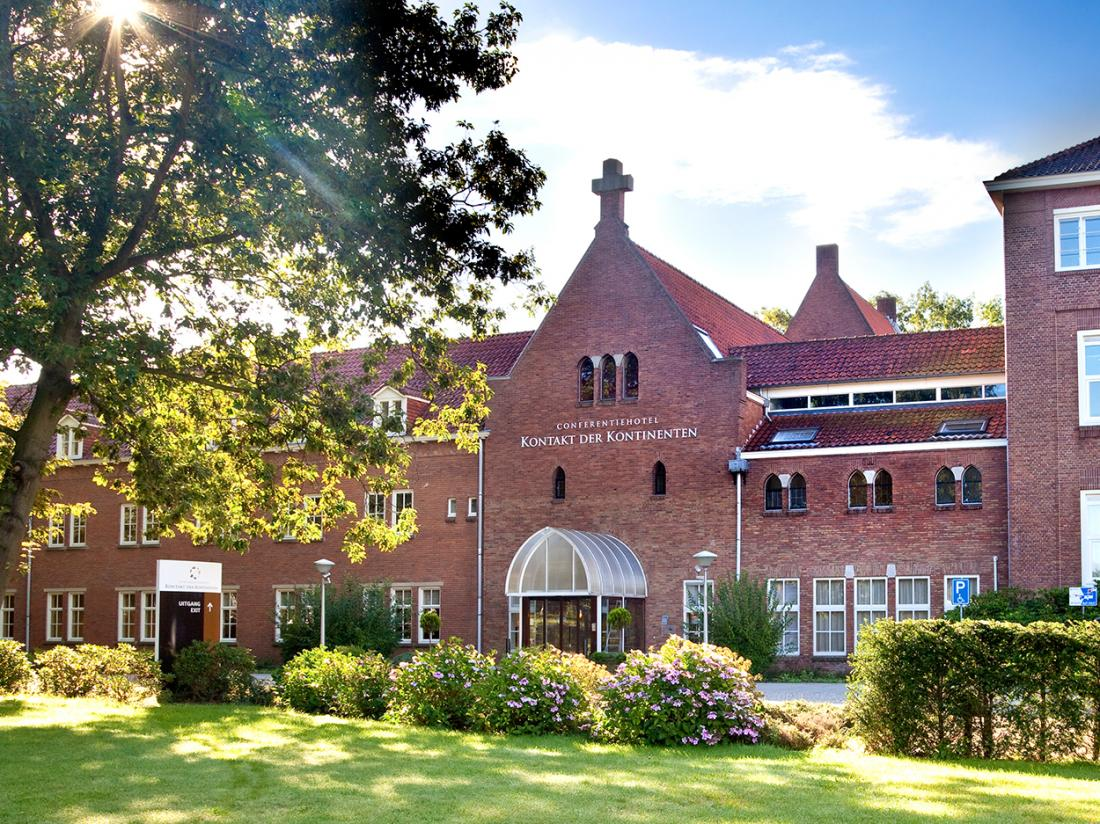 Conferentiehotel Kontakt der Kontinenten Utrecht Vooraanzicht Hotel