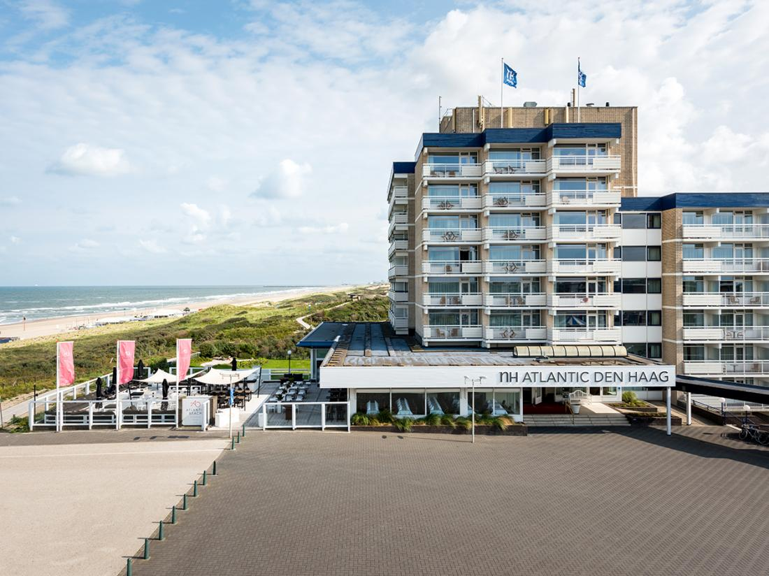 hotelaanbieding NH Atlantic Den Haag voorkant