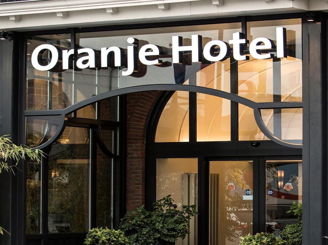 hotelaanbieding oranje hotel leeuwarden  voorkant