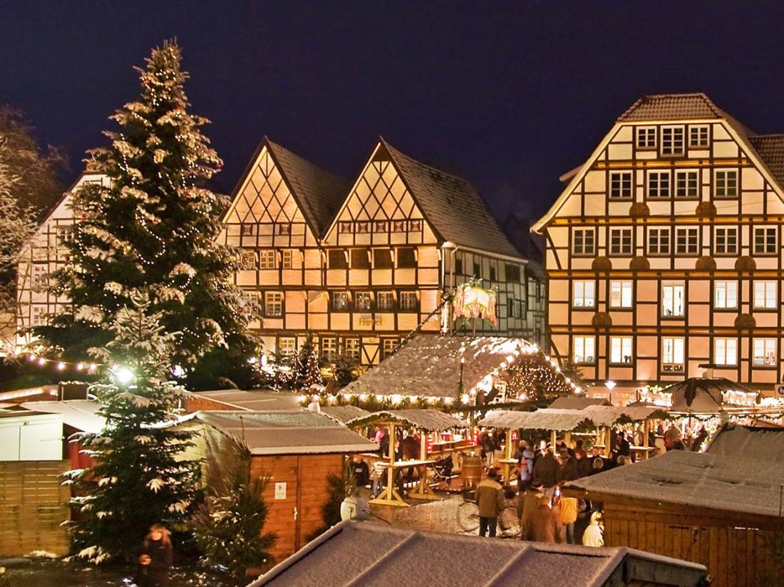 Hotelaanbieding Duitsland Weihnachtsmarkt