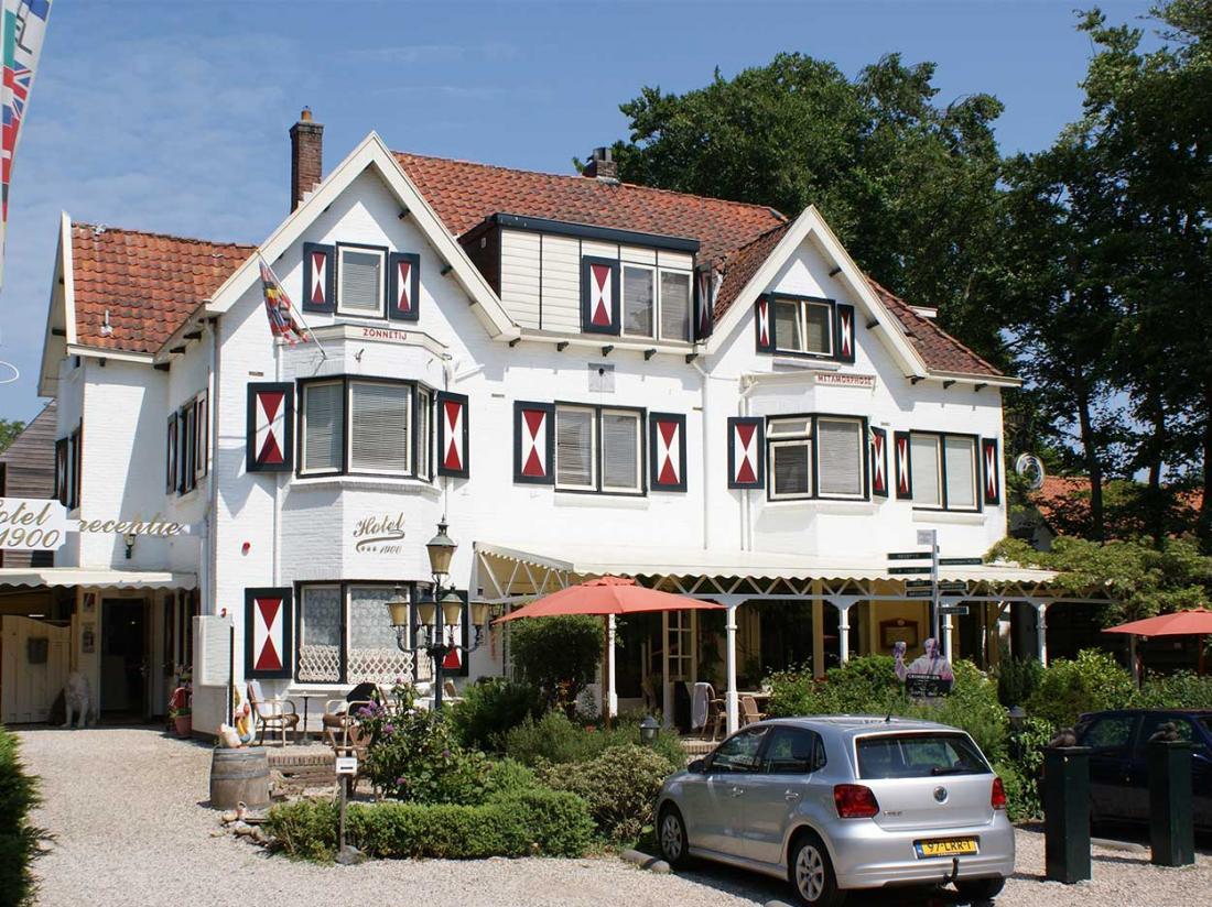 Hotelaanbieding hotel1900 Bergen Bosrijke omgeving wandelen