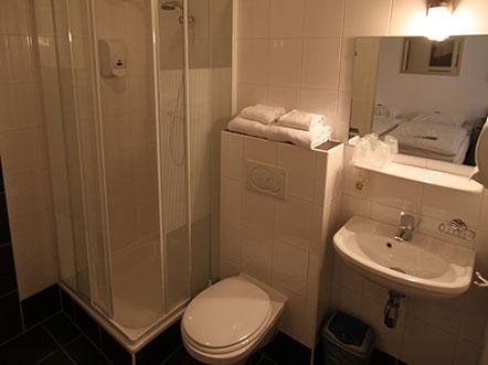 Hotelarrangement Gelderland badkamer