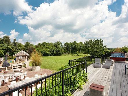 Hotelaanbieding Noord Brabant Dakterras