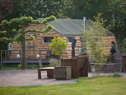 guesthouse de heide oeffelt tuin