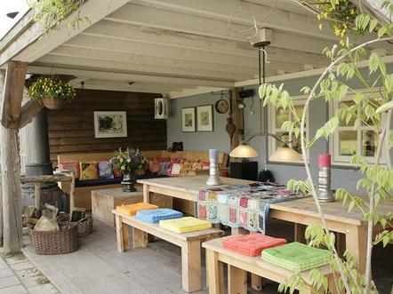 guesthouse de heide veranda