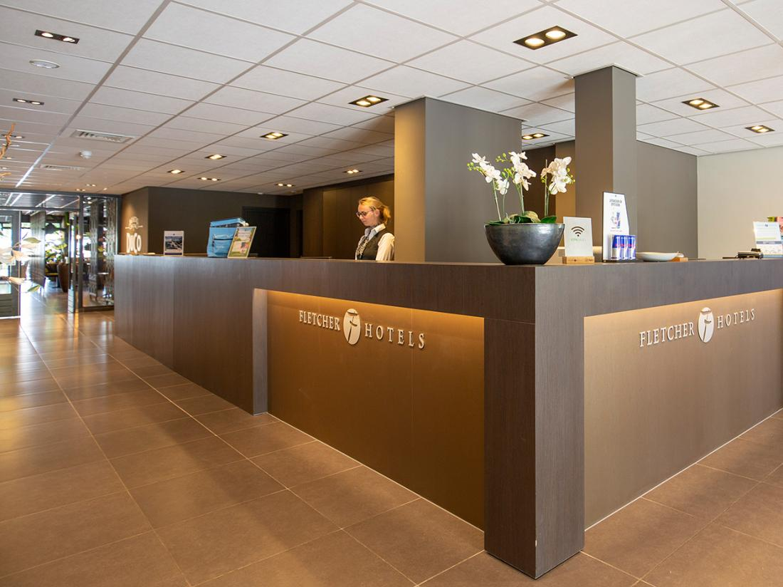 Fletcher Hotel Frerikshof Winterswijk Receptie