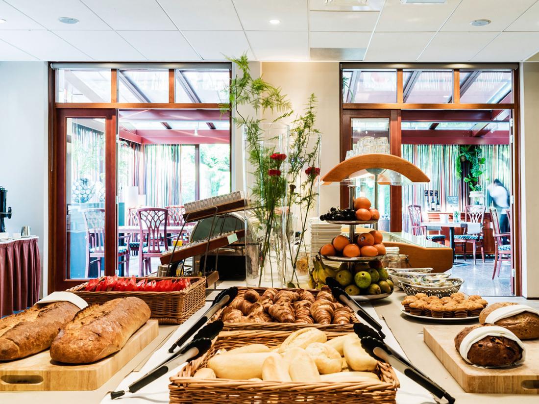 Paviljoen Hotel Rhenen Utrecht Ontbijtzaal