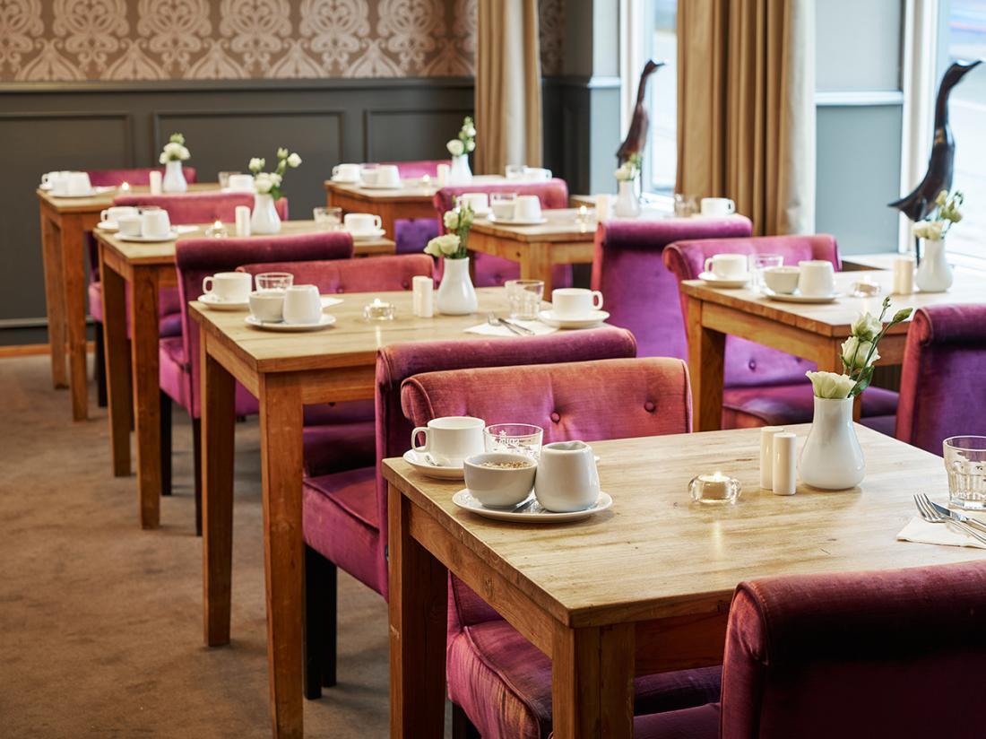 Weekendjeweg Saillant Hotel Gulpen limburg ontbijtzaal