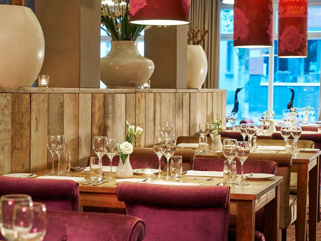 Weekendjeweg Saillant Hotel restaurant