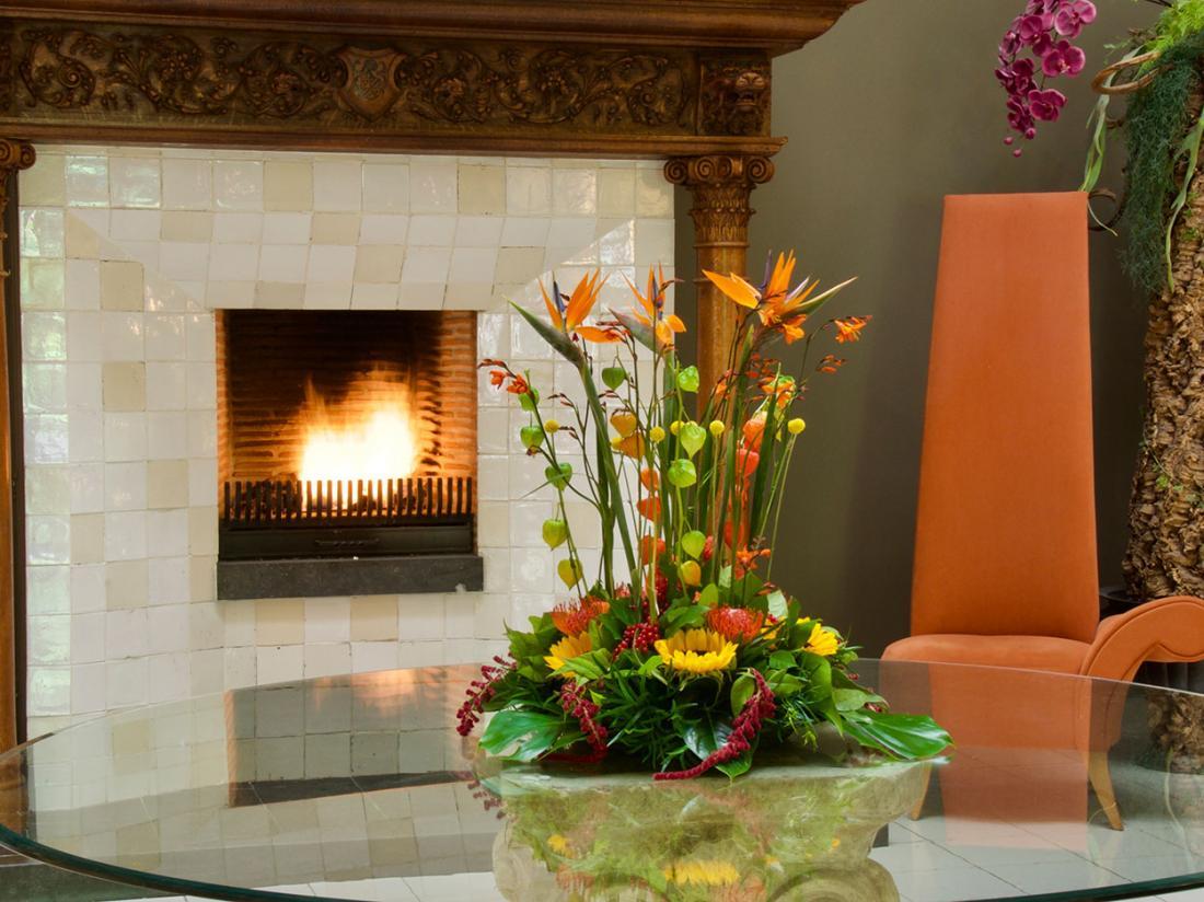 Golden tulip heerlijckheid van Ermelo kachel en bloem