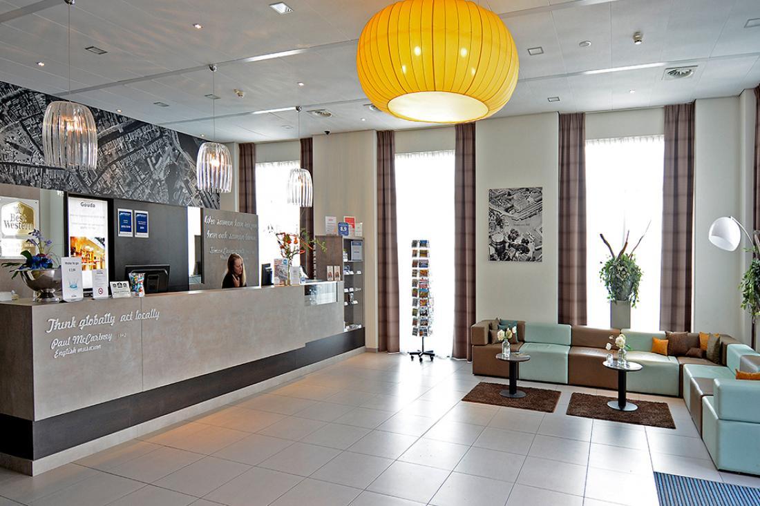 Best Western Plus City Hotel Gouda Lobby