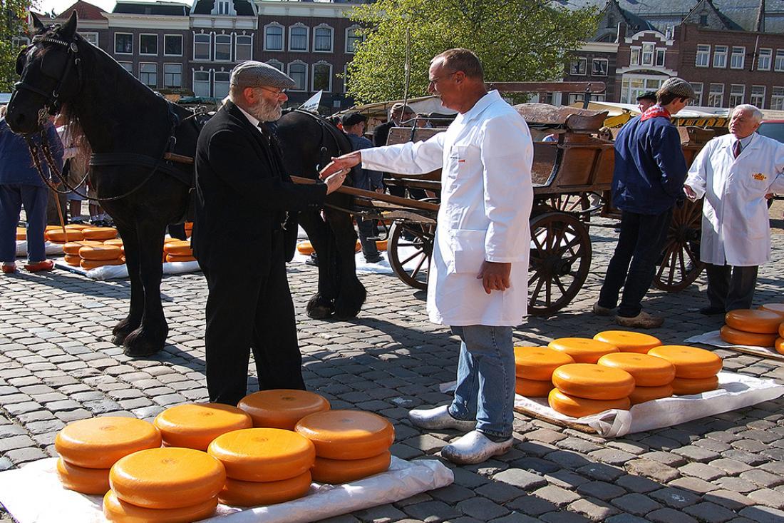 Weekendje Weg Gouda Goudse Kaasmarkt