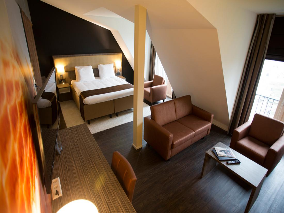 Weekendje Weg Zuid Holland Hotelkamer