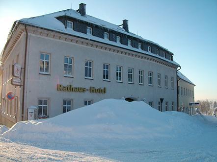 Rathaus Hotel Johstadt Hotel Winter
