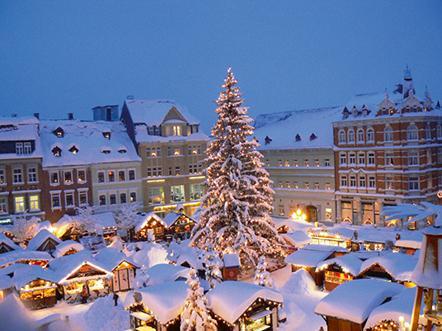 Rathaus Hotel Johstadt Kerstmarkt