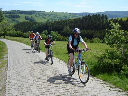 Rathaus Hotel Johstadt Mountainbiken