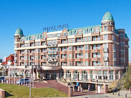 Palace Hotel Noordwijk hotel zijaanzicht