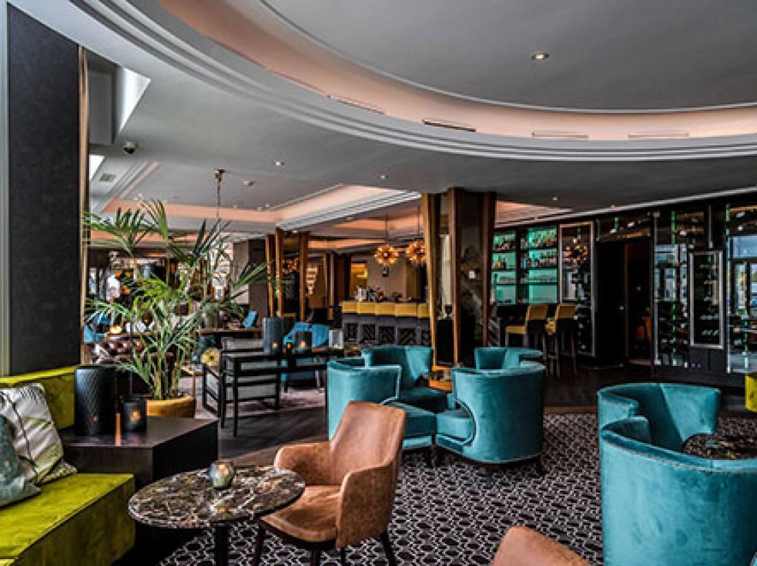Palace Hotel Noordwijk restaurant dunes zithoek