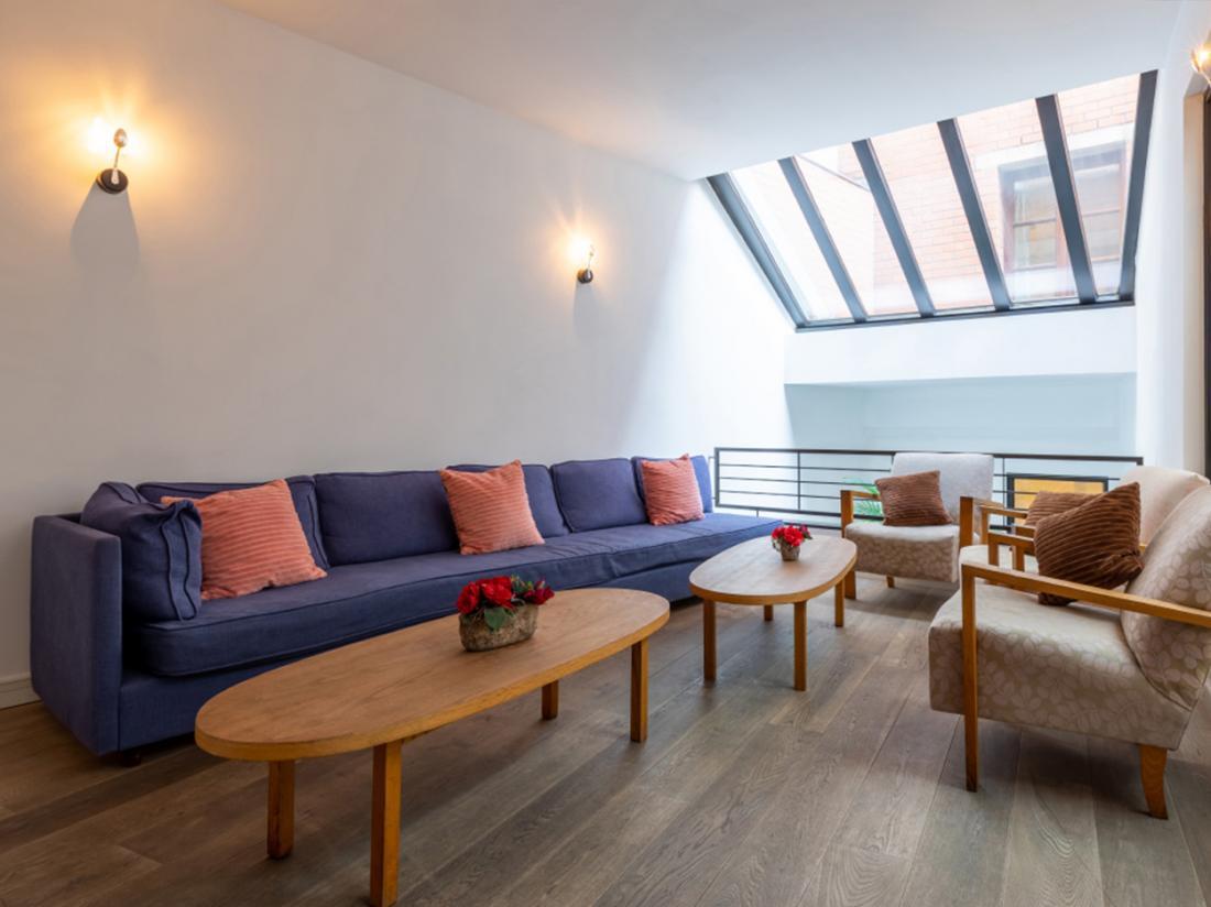 Eden Antwerpen Belgi Weekendjeweg interieur lounge