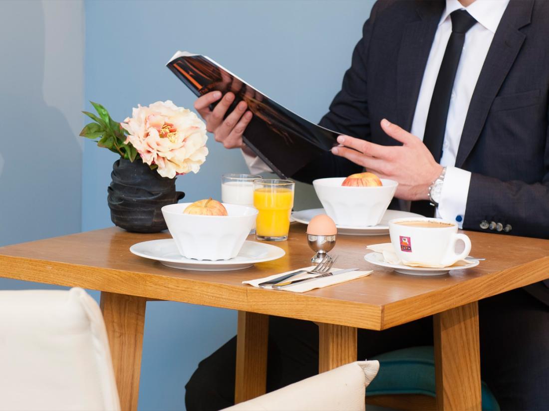 Eden Antwerpen Belgi Weekendjeweg ontbijt
