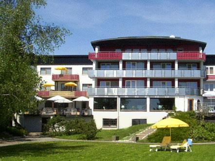 Resorthotel Park Hill Baden Württemberg Lossburg Duitsland hotel vooraanzicht
