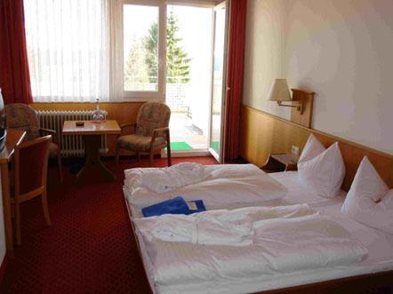 Resorthotel Park Hill Baden Württemberg Lossburg Duitsland tweepersoonskamer
