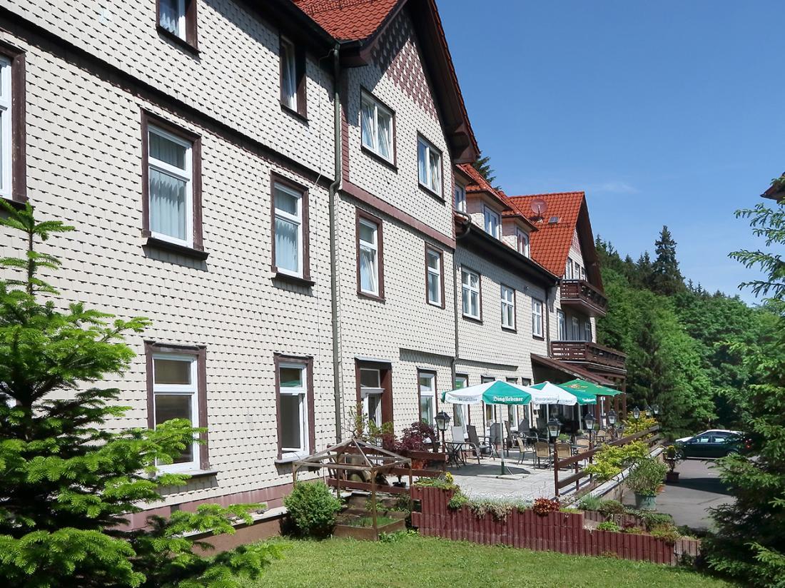 Waldhotel Friedrichroda Buitenaanzicht