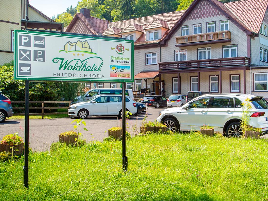 Waldhotel Friedrichroda Hotel Buitenaanzicht