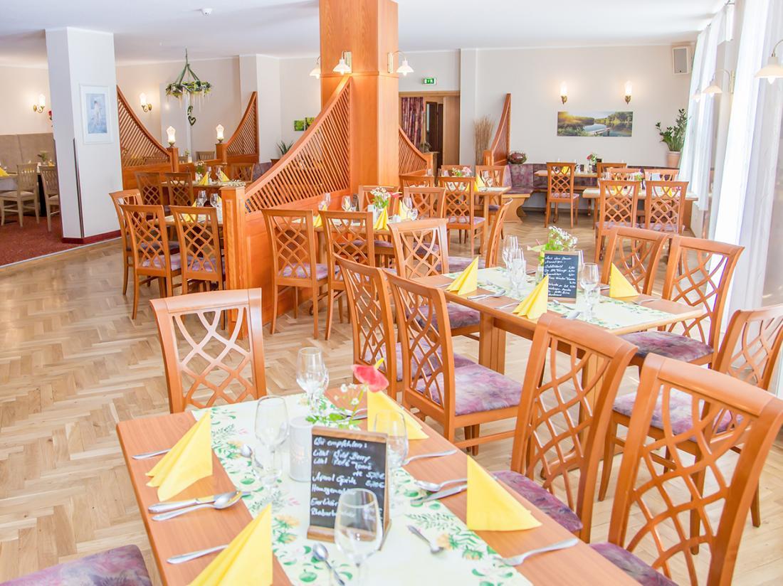 Waldhotel Friedrichroda Weekendjeweg Restaurant