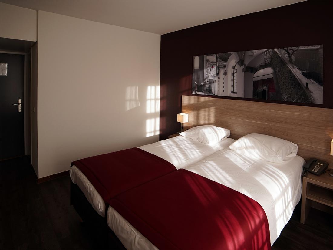Hotel Abdij Rolduc Limburg Kamer