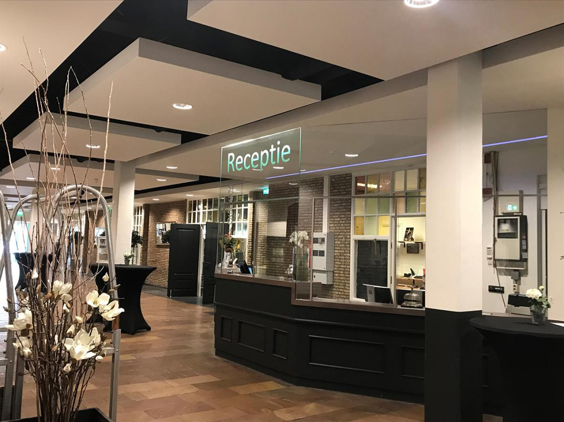 Hotel de Druiventros Noord Brabant Receptie