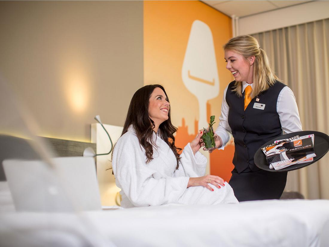 Hotelaanbieding Zuid Holland hotelkamer