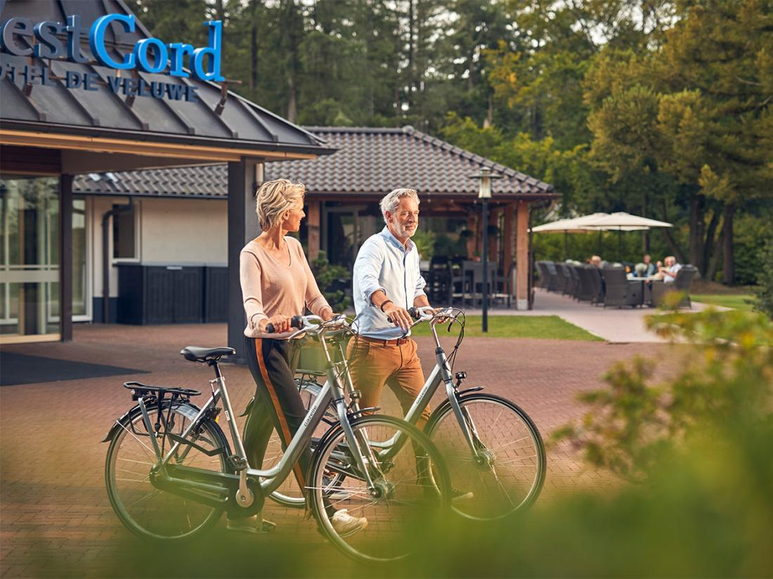 Fietsen Westcord Veluwe genieten hotel Weekendjeweg