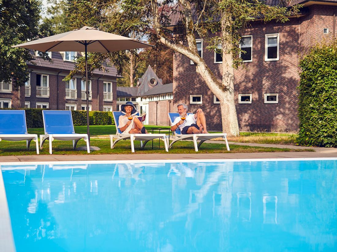 Hotelaanbieding Veluwe Zwembad zonnen weekendjeweg