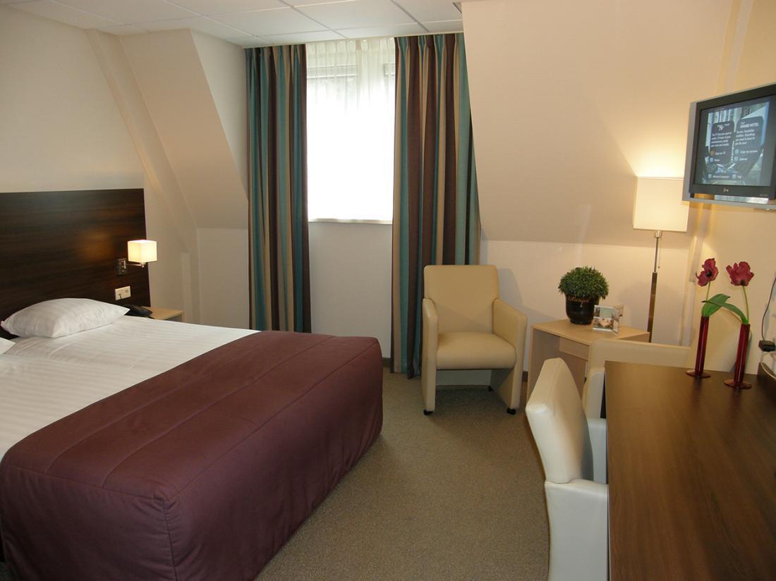 Weekendjeweg Veluwe hotel Hotelkamer