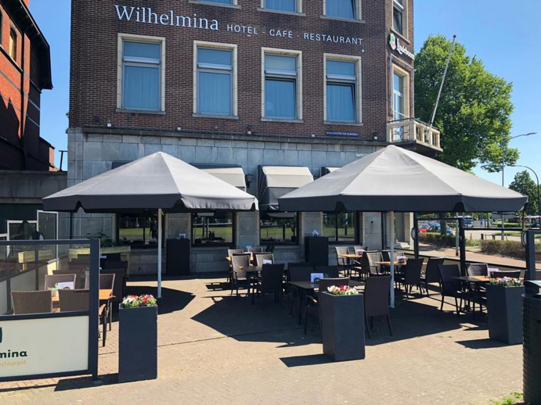 Hotel Wilhelmina aanzicht Venlo