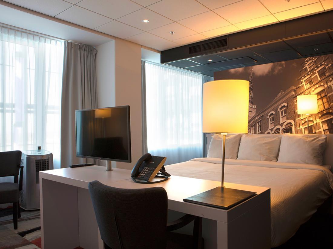 Hotel Leiden Hotelkamer