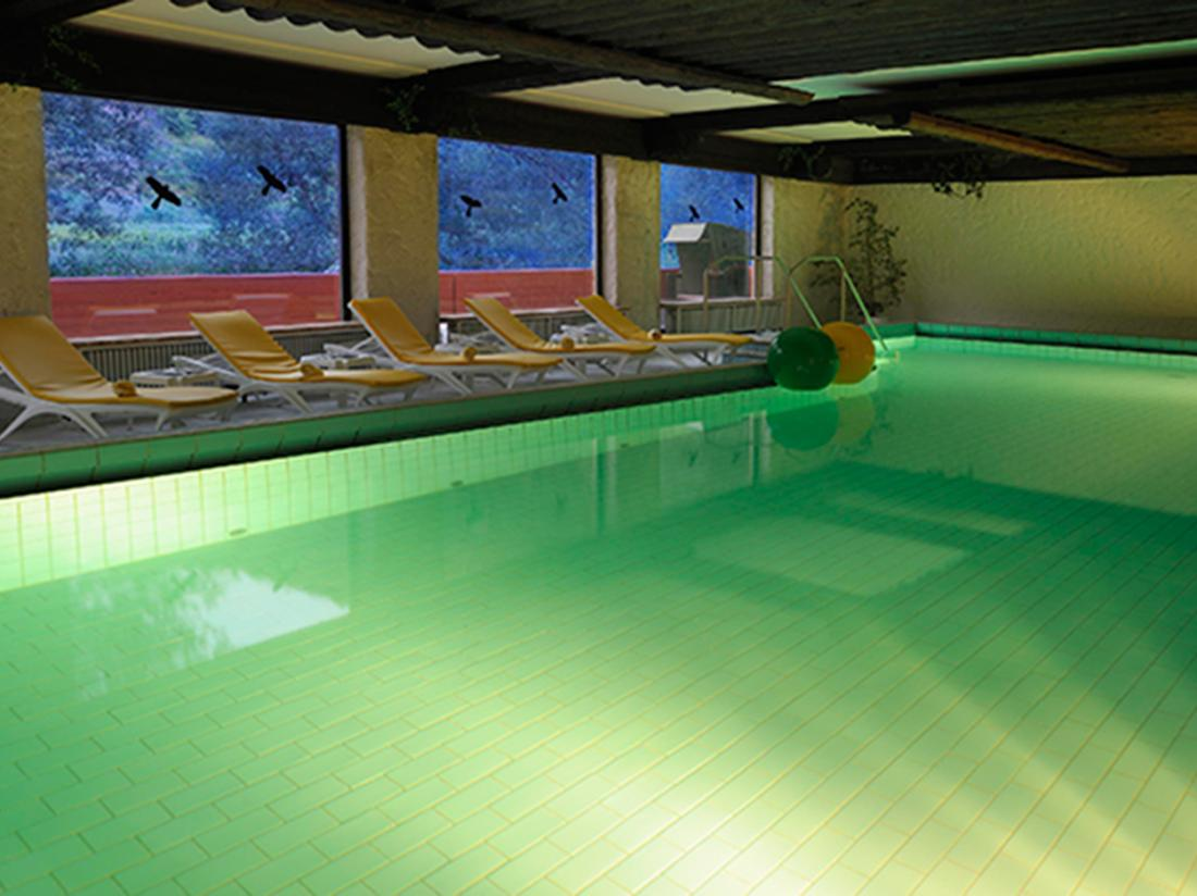 Hotel Lochmuhle Mayschoss Zwembad