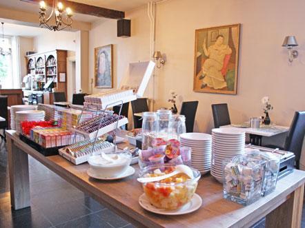 Hotelaanbieding Fletcher Hotel Restaurant De Burghoeve Valkenburg Ontbijt