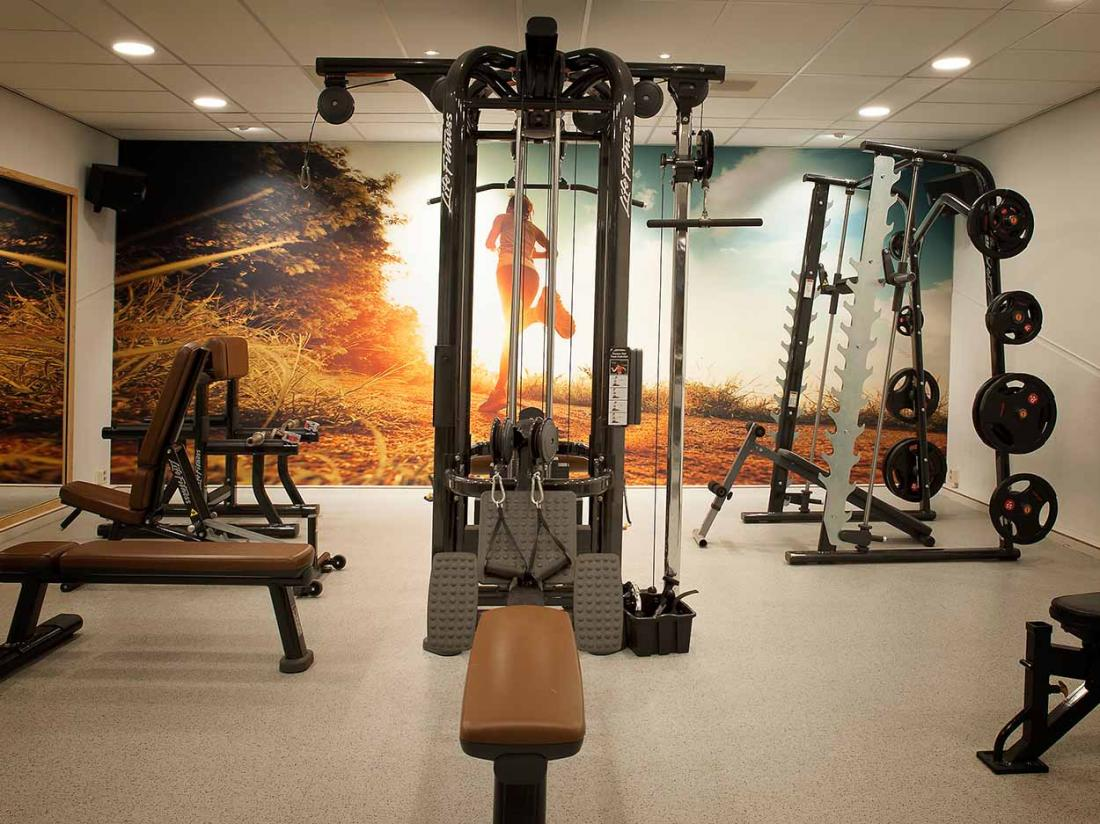 Boshotel Vlodrop Limburg Hotel Interieur Fitness