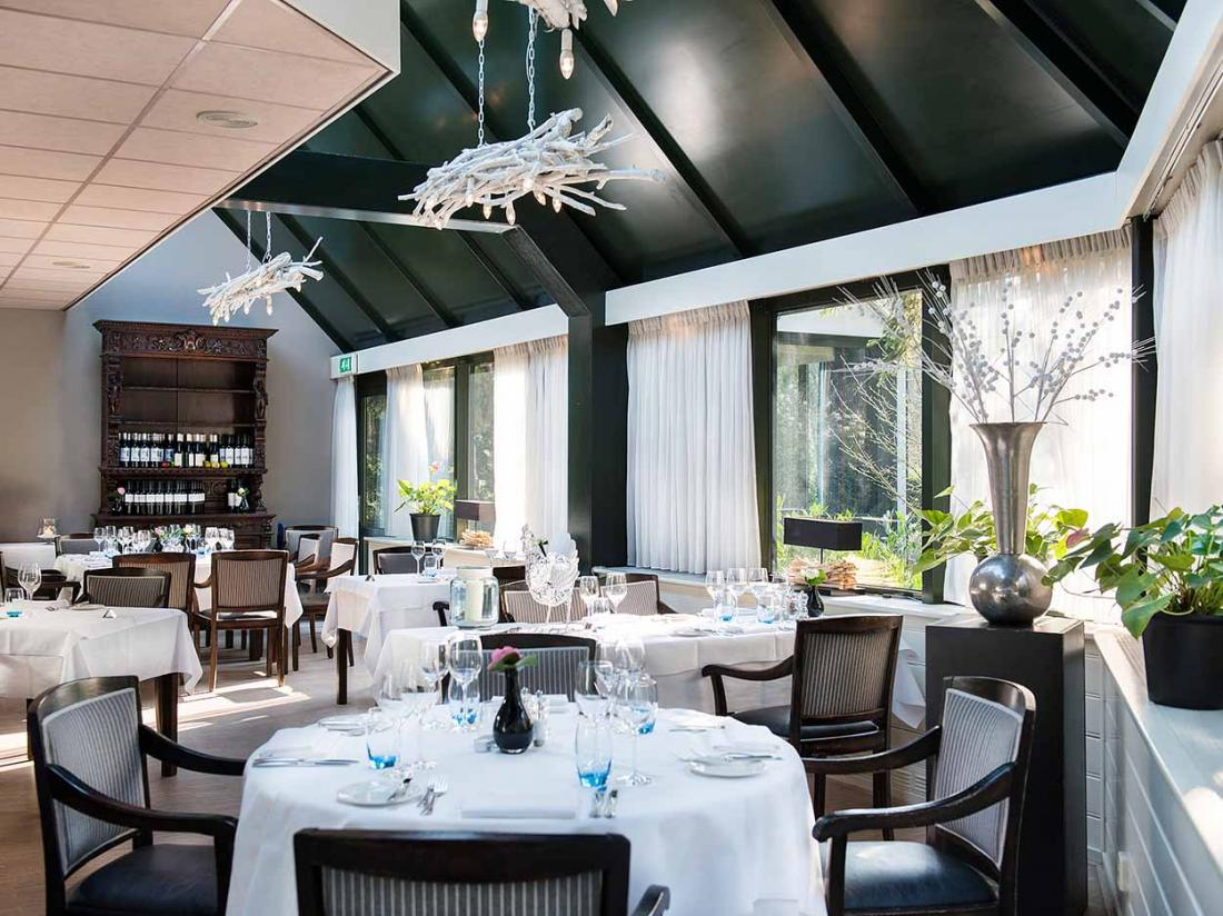 Boshotel Vlodrop Limburg Hotel Interieur Restaurant Tafels