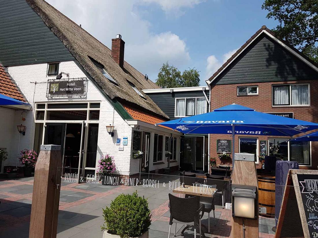 Hotel Witteveen Drenthe Terras