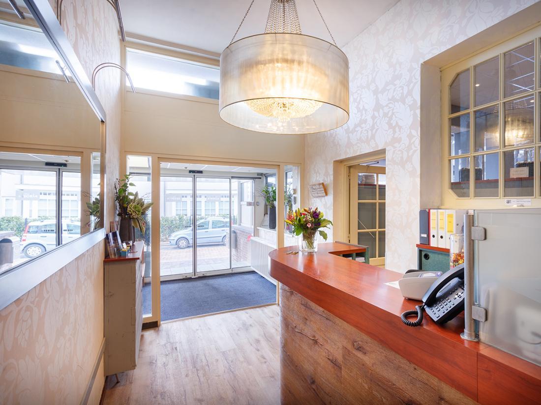 Hotel Astoria Noordwijk aan Zee Entree