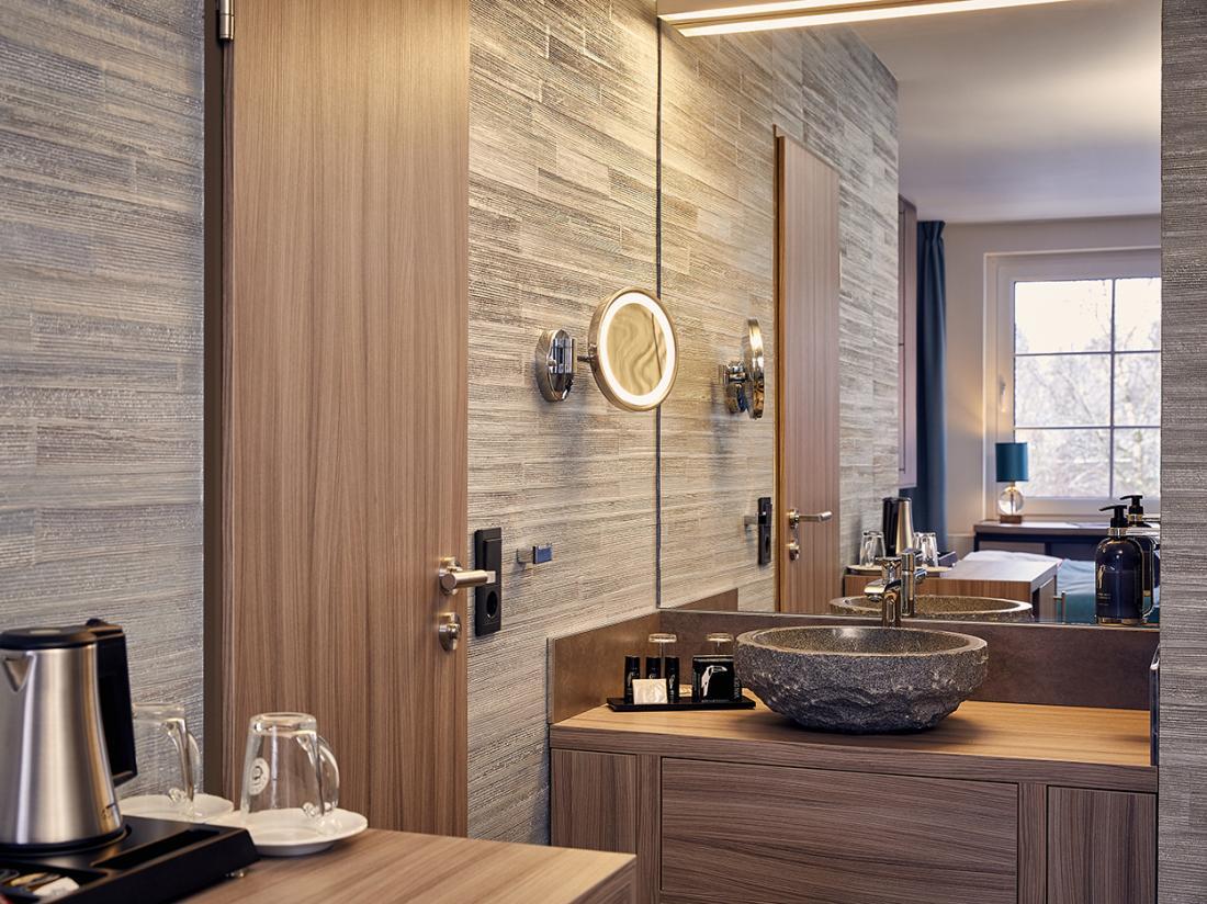 Van der Valk Hotel Spornitz Duitsland badkamer