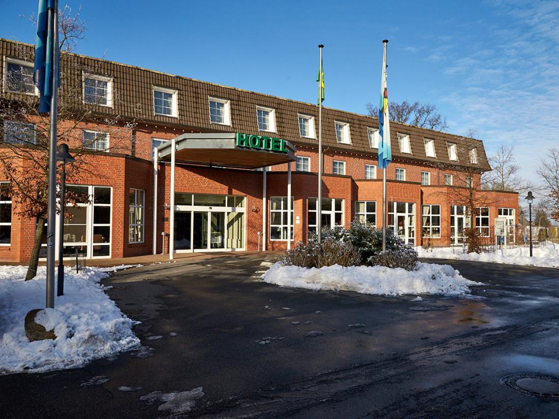 Van der Valk Hotel Spornitz Duitsland hotelgebouw