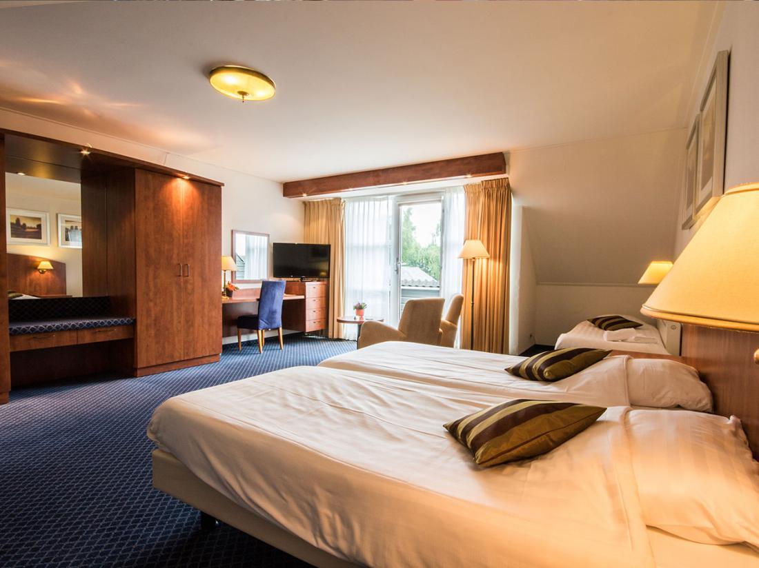 Hotelaanbieding Ruinen Hotelkamer luxe suite