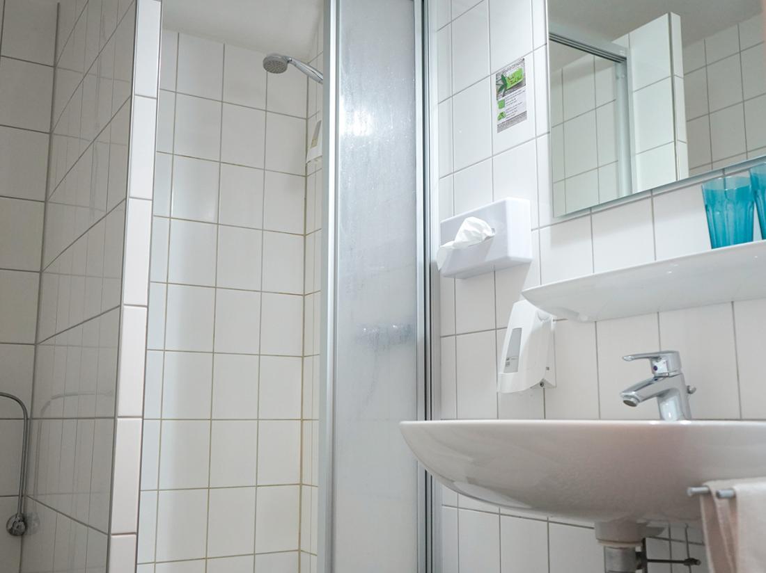 Hotelarrangement Duitsland Bad Bentheim Badkamer