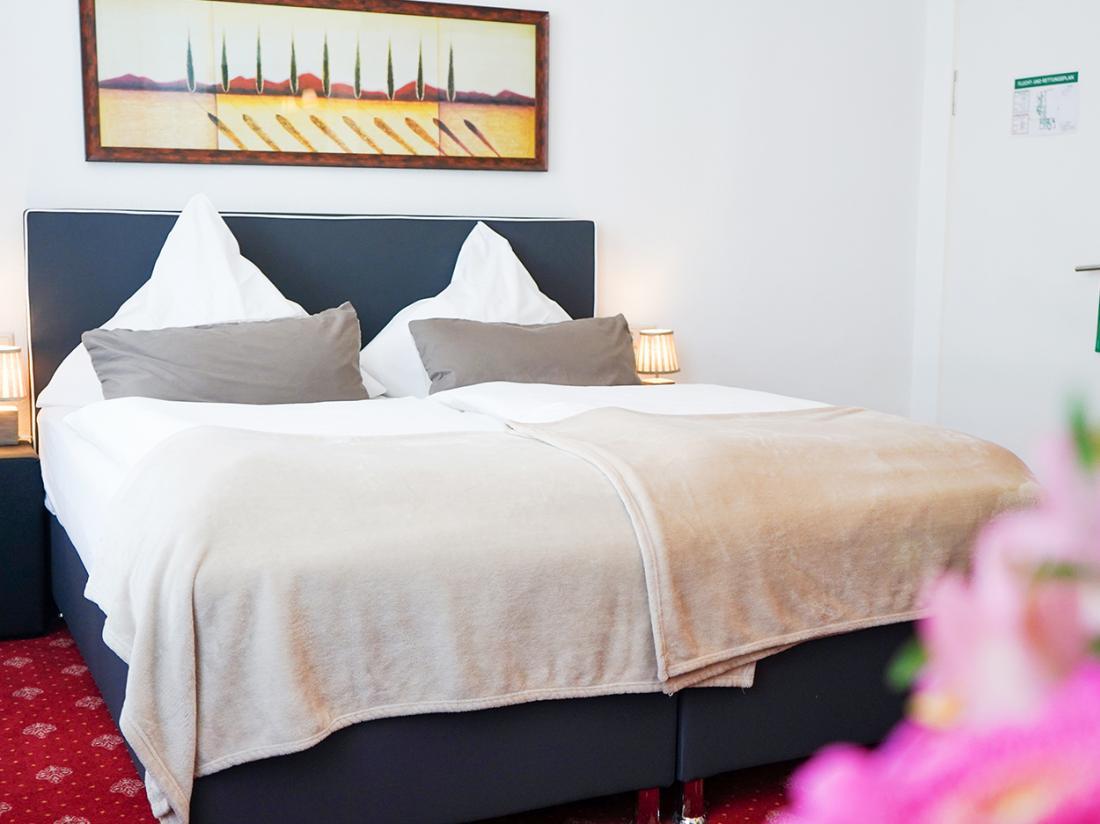 Hotelarrangement Duitsland Bad Bentheim Tweepersoonsbed